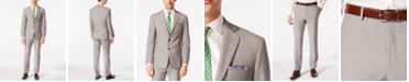 Calvin Klein Solid Classic-Fit Suit Separates