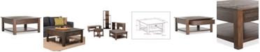 Simpli Home Oswen Square Coffee Table