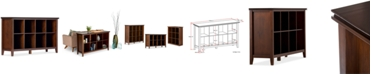 Simpli Home Bellevue 8 Cube Storage, Quick Ship