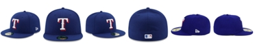 New Era Kids' Texas Rangers Authentic Collection 59FIFTY Cap