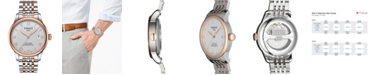 Tissot Men's Swiss Automatic Le Locle Two-Tone Stainless Steel Bracelet Watch 39mm