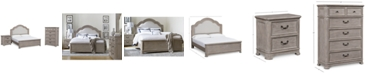 Furniture Elina Bedroom Furniture Set, 3-Pc. (California King Bed, Chest & Nightstand), Created for Macy's