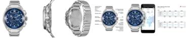 Citizen Eco-Drive Men's Chronograph Proximity Stainless Steel Bracelet Watch 46mm
