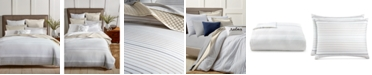 Charter Club CLOSEOUT! Woven Stripe Taupe 300-Thread Count Bedding Collection, Created for Macy's