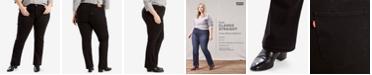 Levi's Trendy Plus Size Classic Straight-Leg Jeans