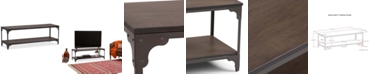 Simpli Home CLOSEOUT! Delvan TV Stand