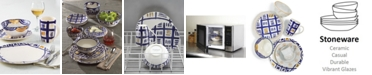 Crafted by Wainwright Lenox-Wainwright Pompeii Blu Dinnerware Collection, Created for Macy's
