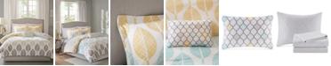Madison Park Central Park 7-Pc. Twin Comforter Set