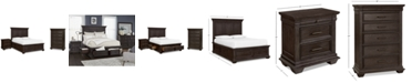 Furniture Hansen Storage Bedroom Furniture, 3-Pc. Set (California King Bed, Nightstand, and Chest), Created for Macy's