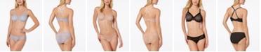 Wacoal Vivid Encounter Geometric-Lace Bra & Bikini