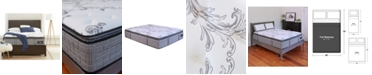 """Chic Couture Cool Gel Memory Foam and Wrapped Coil Hybrid 13"""" Pillow Top Mattress - Full, Quick Ship, Mattress in a Box"""