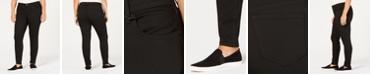 WILLIAM RAST Plus Size Black Skinny Jeans