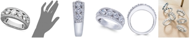 Macy's Certified Diamond Band Ring in 14k White Gold (2 ct. t.w.)