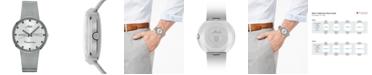 Mido Men's Swiss Automatic Commander Stainless Steel Mesh Bracelet Watch 37mm