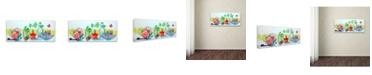"""Trademark Global Oxana Ziaka 'Nature Morte' Canvas Art - 10"""" x 24"""" x 2"""""""