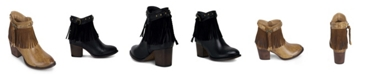 Wanted Mane Western Fringed Bootie