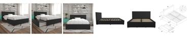 Novogratz Collection Novogratz Kelly Upholstered Queen Bed with Storage