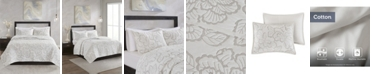 Natori Kira Full/Queen 3 Piece Cotton Coverlet Set