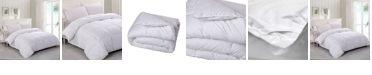 Lotus Home Luxury Alternative Comforter with Stain Protection