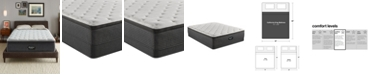"Beautyrest BRS900-TSS 14.75"" Medium Firm Pillow Top Mattress Set - California King, Created For Macy's"