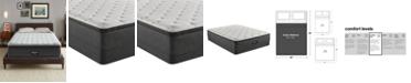 """Beautyrest BRS900-TSS 14.75"""" Medium Firm Pillow Top Mattress Set - Queen Split, Created For Macy's"""