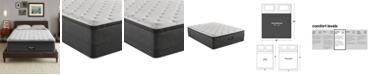 """Beautyrest BRS900-TSS 14.75"""" Medium Firm Pillow Top Mattress Set - King, Created For Macy's"""