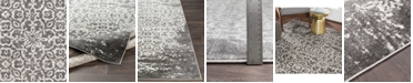 """Abbie & Allie Rugs Abbie & Allie Rugs MNC-2305 Charcoal 18"""" Area Rug Swatch"""