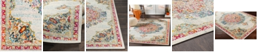 """Abbie & Allie Rugs Morocco MRC-2324 Teal 18"""" Area Rug Swatch"""