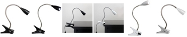 All The Rages Limelight's Flexible Gooseneck LED Clip Light Desk Lamp