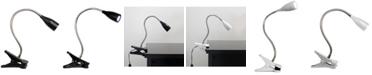 All The Rages Limelight's Flexible Gooseneck LED Clip Light Desk Lamp