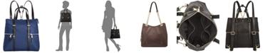 INC International Concepts I.N.C. Haili Nylon Convertible Backpack, Created for Macy's
