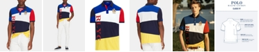 Polo Ralph Lauren Men's Nautical Classic-Fit Stretch Mesh Polo Shirt
