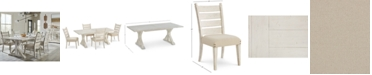 Furniture Trisha Yearwood Home Coming Dining Furniture, 5-Pc. Set (Table & 4 Side Chairs)