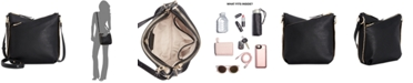INC International Concepts I.N.C. Valliee Double Zip Crossbody, Created for Macy's