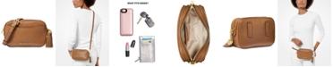 Michael Kors Pebble Leather Convertible Crossbody Belt Bag