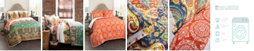 Lush Decor Bohemian Meadow 3-Pc. King Quilt Set