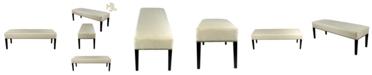 MJL Furniture Designs Roxanne Upholstered Nailhead Trim Long Bench