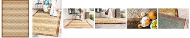 "Bridgeport Home Pashio Pas1 Beige 8' x 11' 4"" Area Rug"