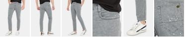 Buffalo David Bitton Men's Pajax Slim-Straight Ft Stretch Camouflage Destroyed Jeans