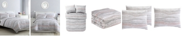 VCNY Home Marble 2 Piece Twin XL Duvet Set