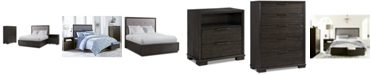 Furniture Morgan Storage Bedroom Furniture 3-Pc. Set (Queen Bed, Nightstand & Chest), Created for Macy's