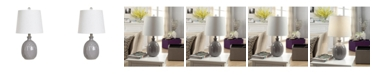 """Crestview Collection 21"""" Ceramic Table Lamp"""