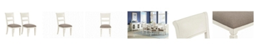 Furniture Chesapeake Bay 2-Pack Upholstered Dining Chairs, Quick Ship