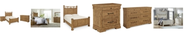 Klaussner Trisha Yearwood Coming Home Post Bedroom Collection 3-Pc. Set (King Bed, Nightstand & Dresser)