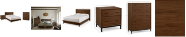 Furniture Oslo Bedroom Furniture, 3-Pc. Set (King Bed, Nightstand & 5 Drawer Chest), Created for Macy's