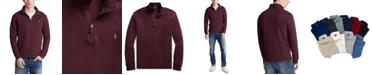 Polo Ralph Lauren Men's Estate-Rib Quarter-Zip Pullover Sweater, Created for Macy's