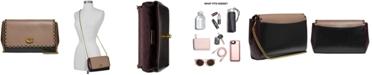 COACH Alexa Scalloped Leather Crossbody Bag