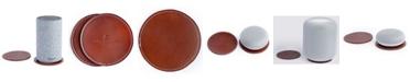 Casa Bellante Leather Coasters - Set of 2