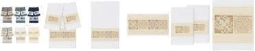 Linum Home 100% Turkish Cotton Vivian 3-Pc. Embellished Bath and Hand Towel Set