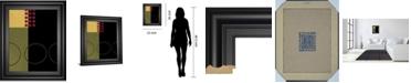 """Classy Art Circular Zone I by Fernando Leal Framed Print Wall Art, 22"""" x 26"""""""